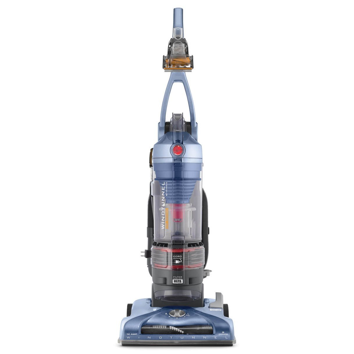 Hoover WindTunnel T-Series Pet Rewind Plus Upright Vacuum, Bagless, UH70210 Review