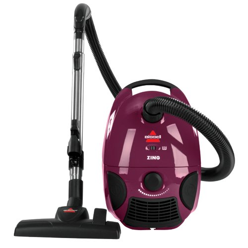 Best BISSELL Zing Bagged Canister Vacuum, Purple, 4122 Review